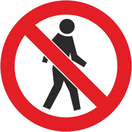 Zabraneno za peshehodtsi