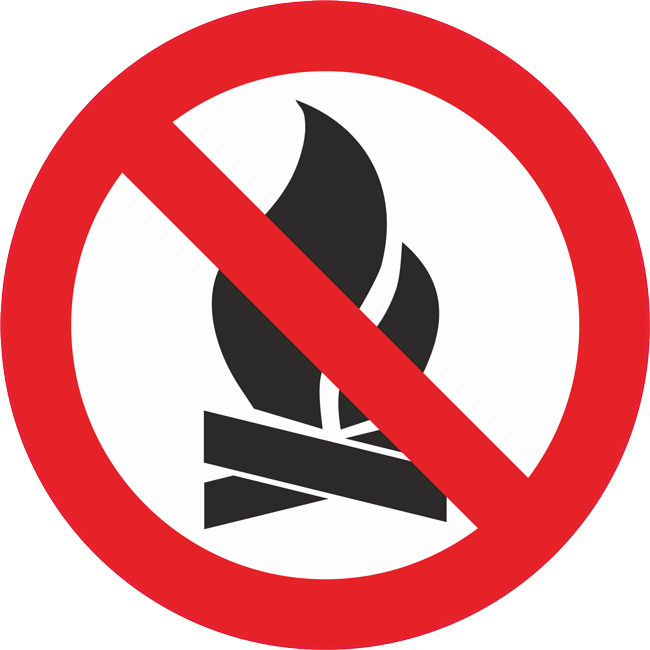 Zabraneno paleneto na ogan