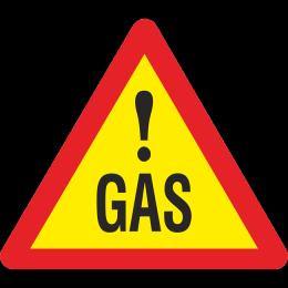 Opasnost ot iztichane na gaz