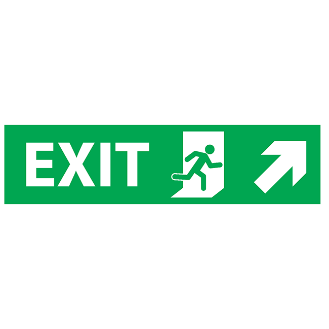Exit top-right