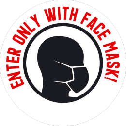 Sticker face mask