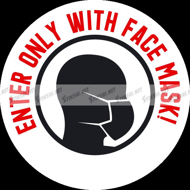 Sticker face mask