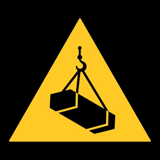 Hanging Load Sticker