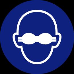 Mandatory-to-wear-opaque-eye-protection