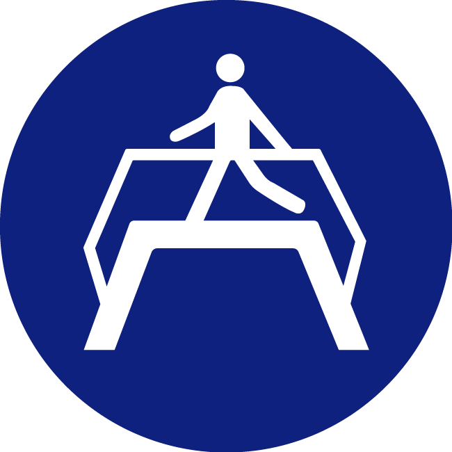 Mandatory-use-of-a-pedestrian-bridge