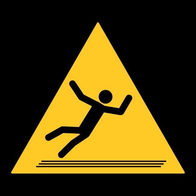 Danger-of-slipping!