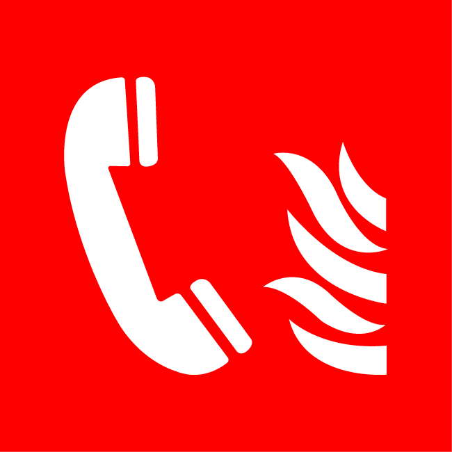Phone in case of fire